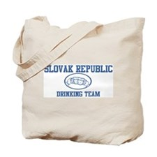 SLOVAK REPUBLIC drinking team Tote Bag