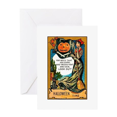 Pirate Witch Greeting Card