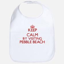 Keep calm by visiting Pebble Beach California Bib