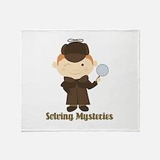 Solving Mysteries Throw Blanket