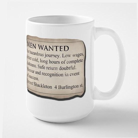 Shackleton Antarctica - Large Mug