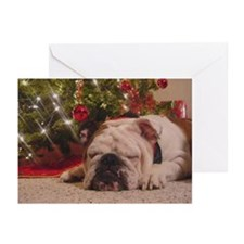 Christmas Bulldog Greeting Cards (Pk of 10)