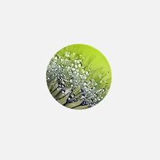 Unique Dandelion plant Mini Button