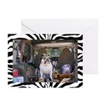 Fishin Bulldog Greeting Cards (Pk of 10)