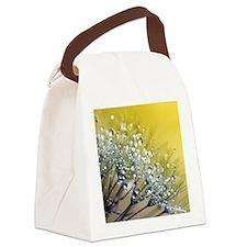 Cool Dandelion plant Canvas Lunch Bag