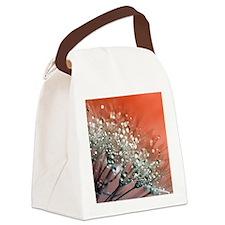 Funny Dandelion plant Canvas Lunch Bag
