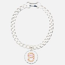 9th Birthday Personalize Bracelet