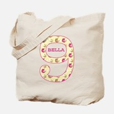 9th Birthday Personalized Tote Bag