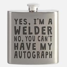Welder Autograph Flask