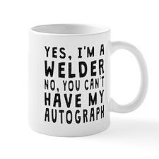 Welder Autograph Mugs