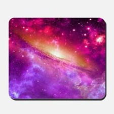 Red And Purple Nebula Mousepad