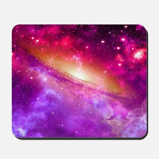 Red And Purple Nebula Mousepad