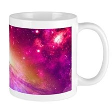 Red And Purple Nebula Mugs