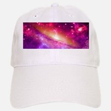 Red And Purple Nebula Baseball Baseball Cap