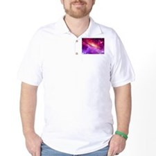 Red And Purple Nebula T-Shirt