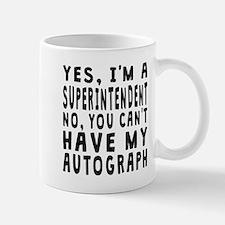 Superintendent Autograph Mugs