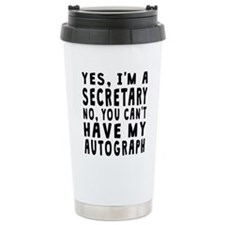 Secretary Autograph Travel Mug