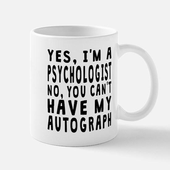 Psychologist Autograph Mugs