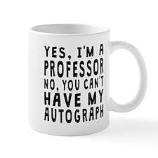 Professor Autograph Mugs