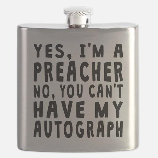Preacher Autograph Flask
