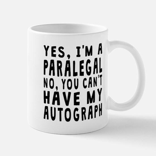 Paralegal Autograph Mugs