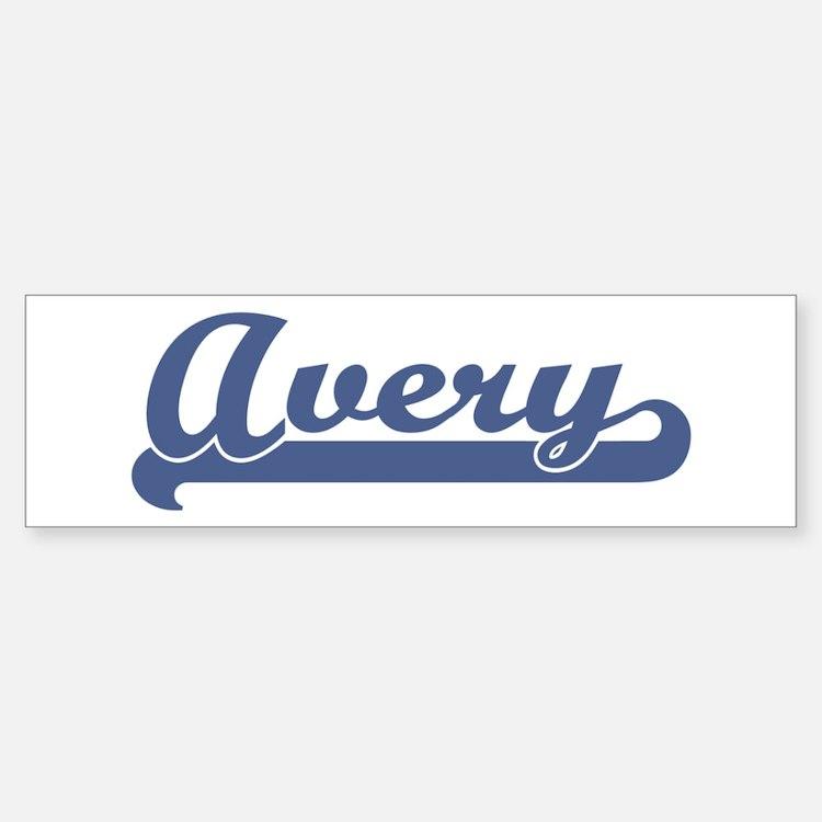 Avery (sport-blue) Bumper Bumper Bumper Sticker