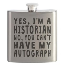 Historian Autograph Flask