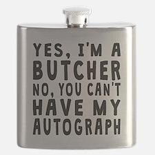 Butcher Autograph Flask