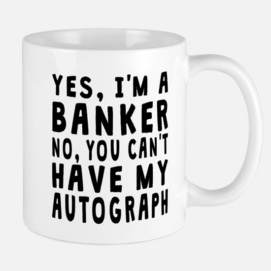 Banker Autograph Mugs
