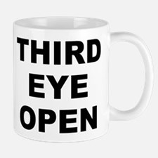 Third Eye Open White Small Mug Mugs