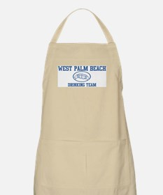WEST PALM BEACH drinking team BBQ Apron