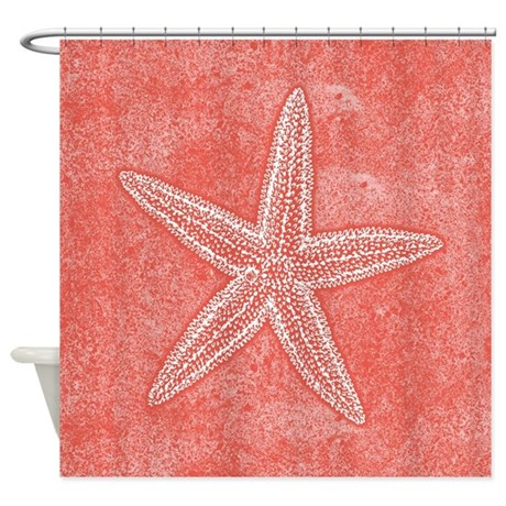 Coral And Turquoise Curtains Coral Shower Curtain Target