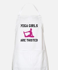 Yoga girls are twisted Apron