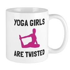 Yoga girls are twisted Mug