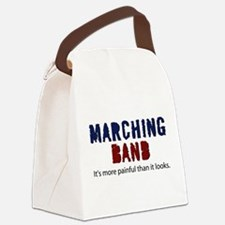 Marching Band More Painful Canvas Lunch Bag