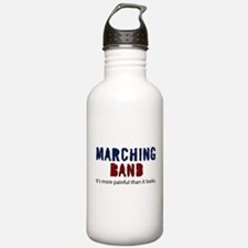 Marching Band More Painful Water Bottle