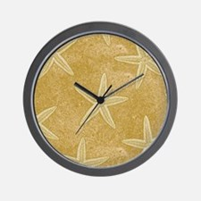 Sand Starfish Wall Clock