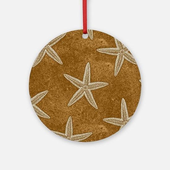Sand Starfish Ornament (Round)