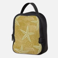 Sand Starfish Neoprene Lunch Bag