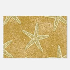 Sand Starfish Postcards (Package of 8)