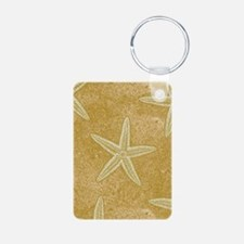 Sand Starfish Keychains