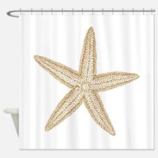 Sand Starfish Shower Curtain