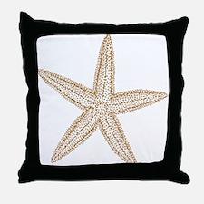 Sand Starfish Throw Pillow