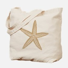Sand Starfish Tote Bag