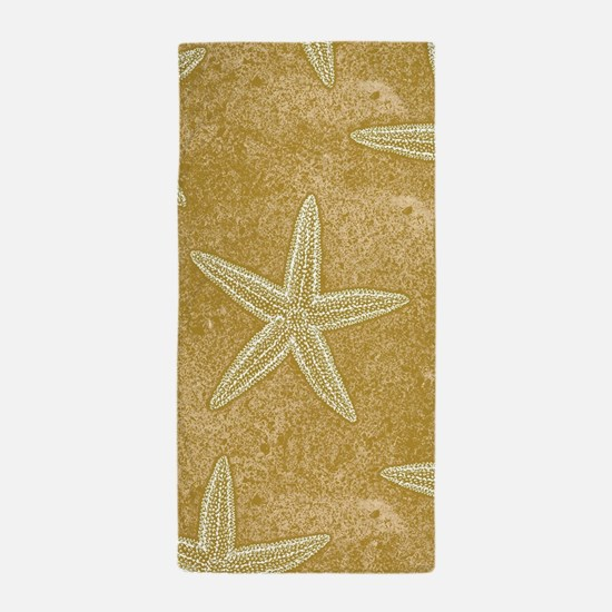 Sand Starfish Beach Towel