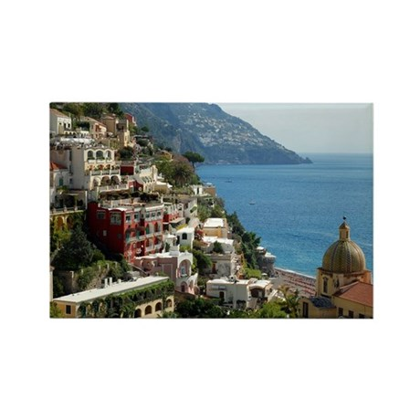 Amalfi Coast Rectangle Magnet (10 pack)