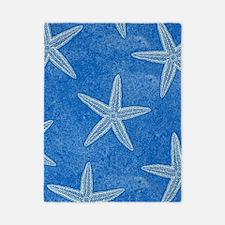 Aqua Blue Starfish Twin Duvet