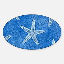 Aqua Blue Starfish Decal