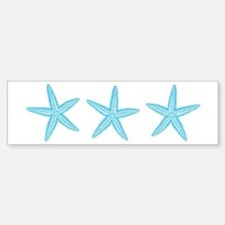 Aqua Blue Starfish Bumper Bumper Sticker