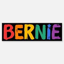 Bernie Fun Rainbow Bumper Bumper Bumper Sticker